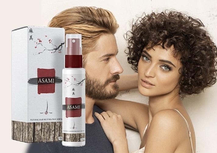 L'applicazione Asami Hair Growth